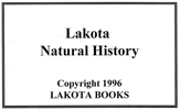 Lakota Natural History