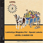 SPEAK LAKOTA LEVEL 2 CD